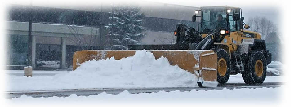 Commercial and Residential Snow Plowing Services