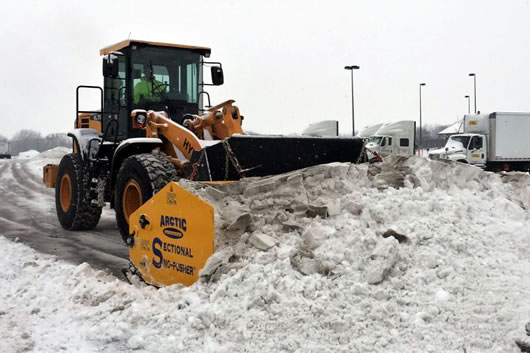 Parking Lot Snow Plowing Services